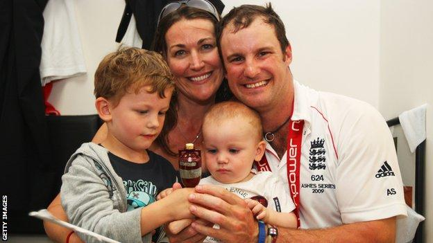 Ruth and Andrew Strauss