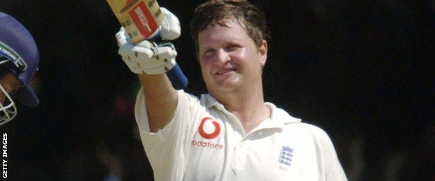 Rob Key double century for England in 2004