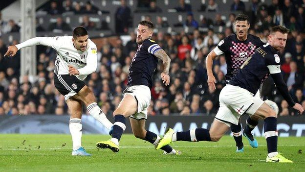 Aleksandar Mitrovic has scored 34 goals for Fulham since arriving from Newcastle in February 2018