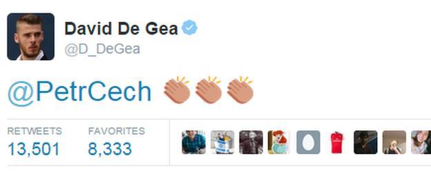 David De Gea Twitter