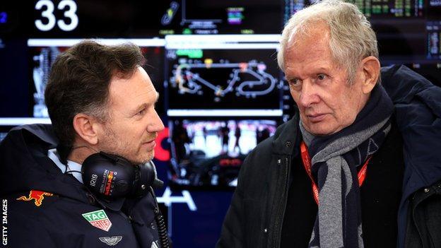 Christian Horner and Helmut Marko