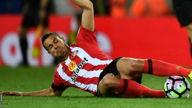 Jack Rodwell injured his knee ligament in January playing against Stoke