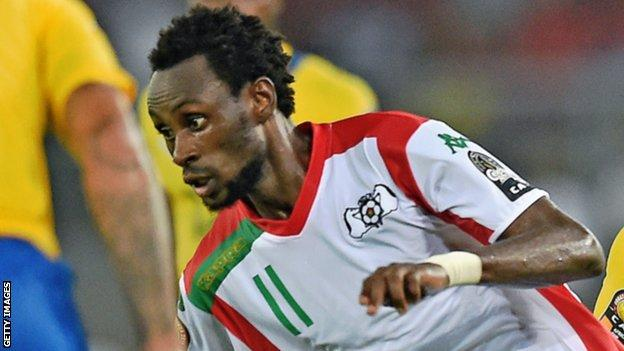 Burkina Faso forward Jonathan Pitroipa