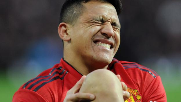Manchester United's Alexis Sanchez ruled out for four to six weeks thumbnail