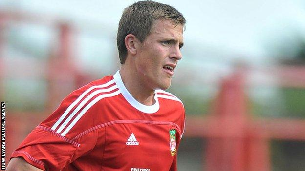 Rob Ogleby of Wrexham FC