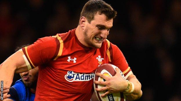 Sam Warburton has captained Wales a record 45 times