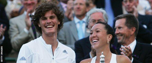Jamie Murray won the 2007 mixed doubles at Wimbledon alongside partner Jelena Jankovic