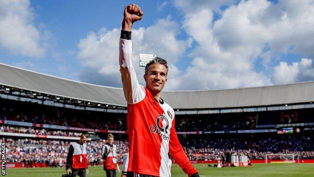 Robin van Persie returns to Feyenoord as coach (2020)
