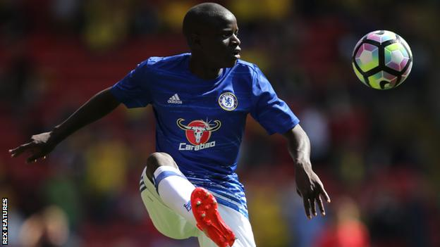N'Golo Kante joined Chelsea from Leicester City for around £30m in this transfer window