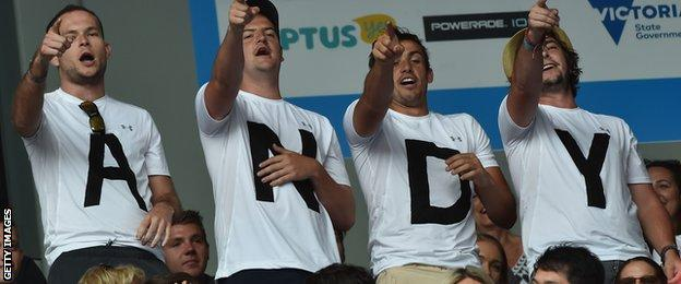 Andy Murray fans