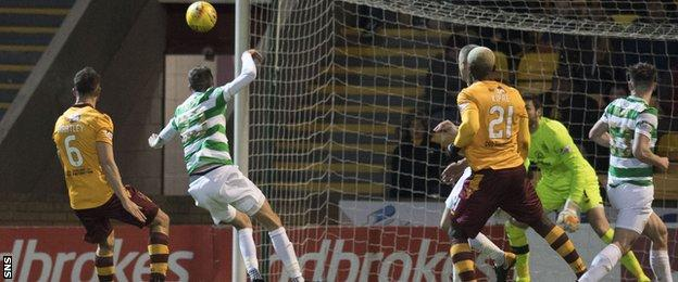Mikael Lustig diverts Craig Tanner's free-kick into his own net