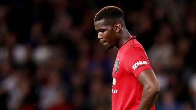 Paul Pogba: Man Utd midfielder subject of racist abuse online after penalty miss thumbnail