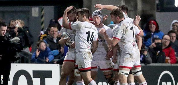 Ulster players