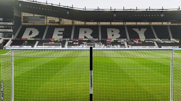 Derby's Pride Park Stadium