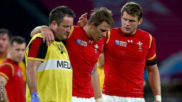 Liam Williams is the latest in a long line of Wales injuries during the World Cup campaign