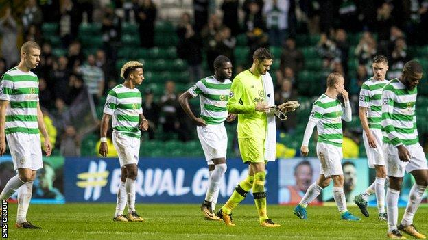 Celtic suffered their heaviest home defeat in Europe