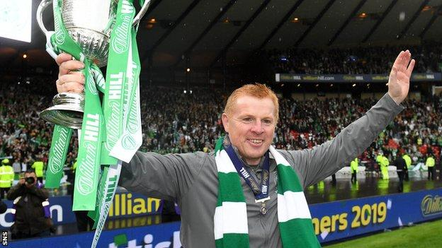 Winning the 2019-20 Scottish Cup would complete the quadruple treble for Celtic
