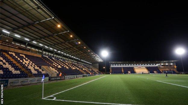 Colchester United's Community Stadium