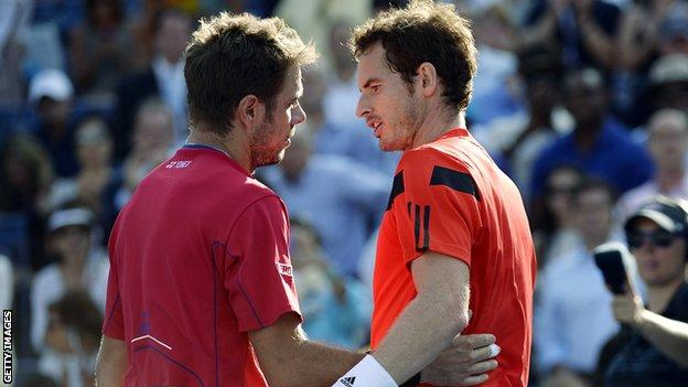 Stan Wawrinka and Andy Murray