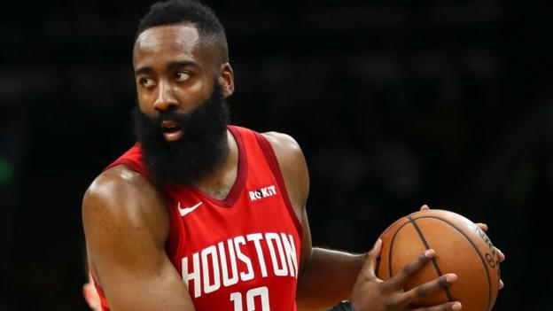 James Harden: Houston Rockets guard sets NBA scoring record thumbnail