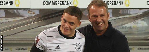 Florian Wirtz was given his Germany debut by new head coach Hansi Flick against Liechtenstein this month