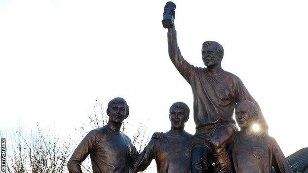 West Ham statue