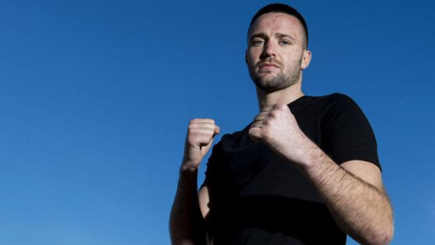Josh Taylor 'more relaxed' before Ryan Martin Super Series bout - BBC Sport