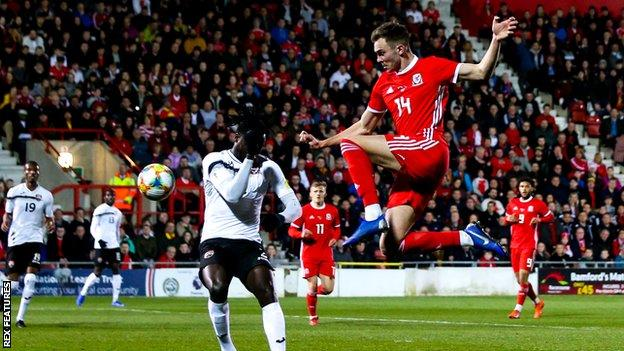 Ryan Hedges won the last of his three Wales caps against Trinidad & Tobago in March 2019