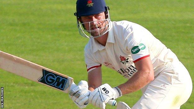 Dane Vilas, who can also keep wicket, has made 1,641 runs at an average of 38.16 in his 30 first-class appearances for Lancashire