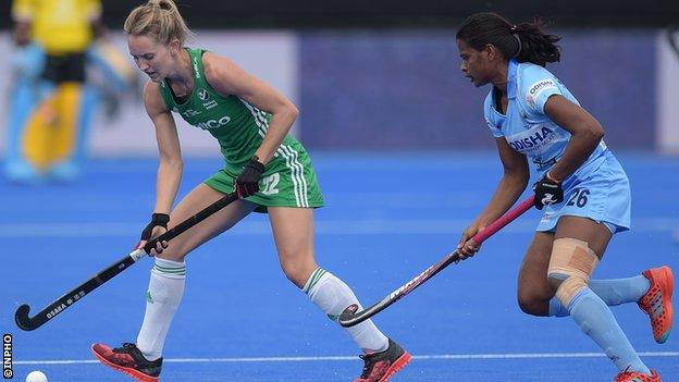 Nicci Daly against India