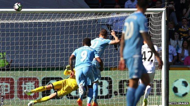 Marko Arnautovic misses penalty
