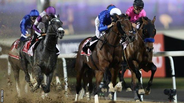 Thunder Snow wins Dubai World Cup