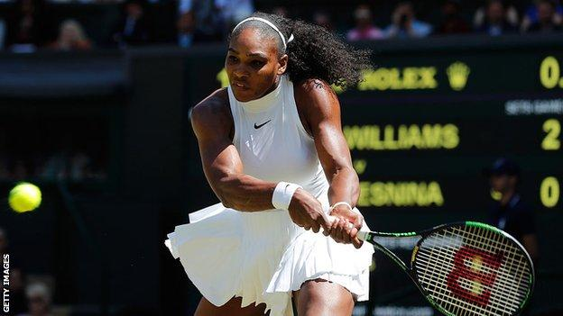 Serena Williams supports equal pay for women