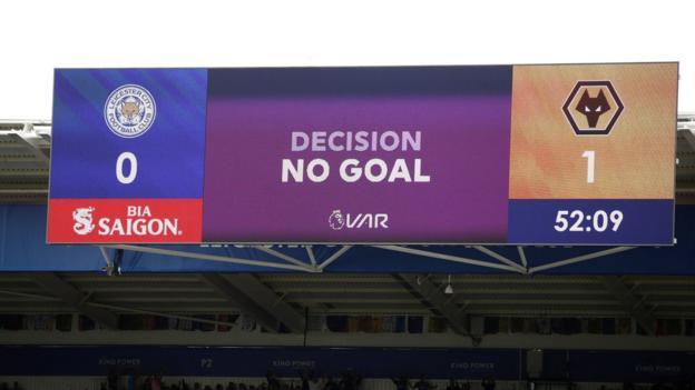 Leicester 0-0 Wolves: Leander Dendoncker has goal ruled out by VAR decision thumbnail