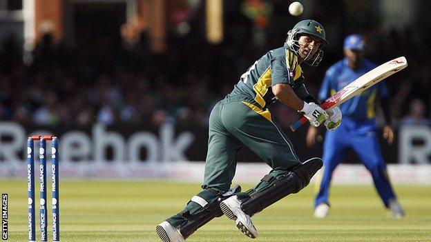 Pakistan's Shoaib Malik