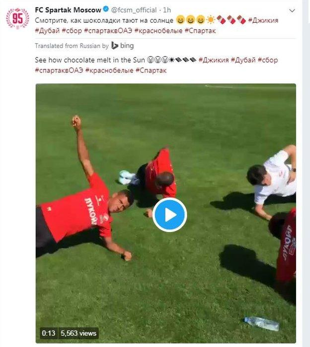Spartak Moscow on Twitter