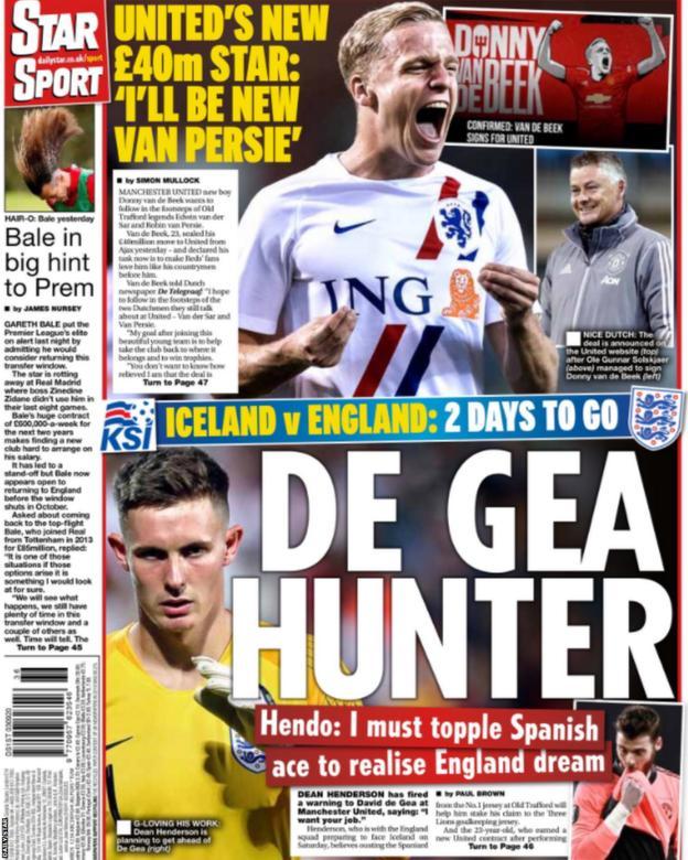 Thursday's Daily Star