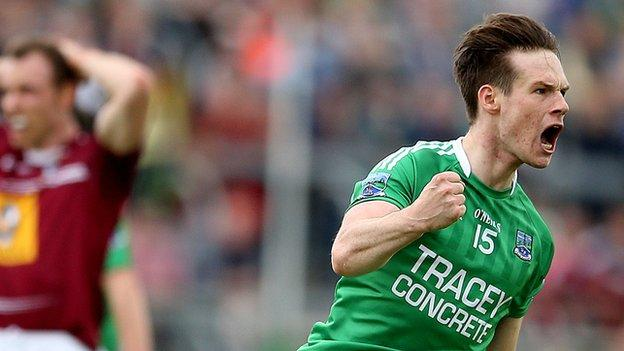 Tomás Corrigan scored a goal and seven points against Westmeath