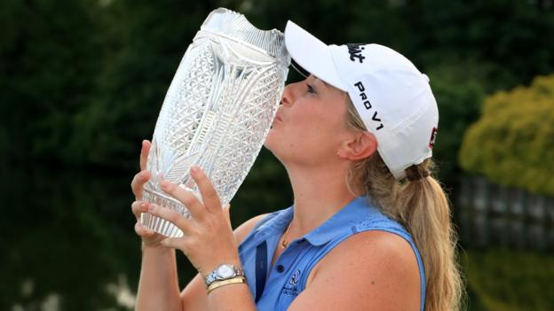 Pure Silk Championship: Bronte Law wins first LPGA Tour title thumbnail