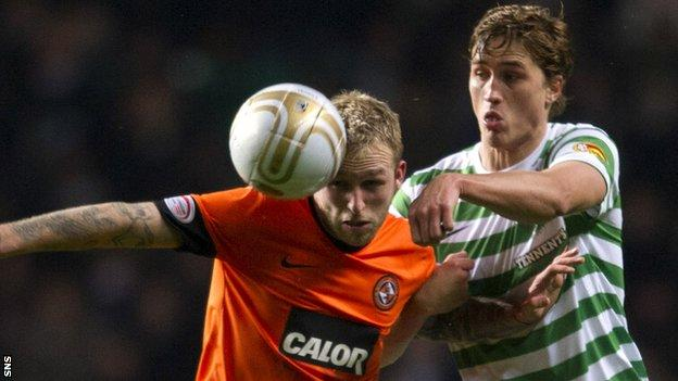 Celtic tried to sign Russell from Dundee United in 2013