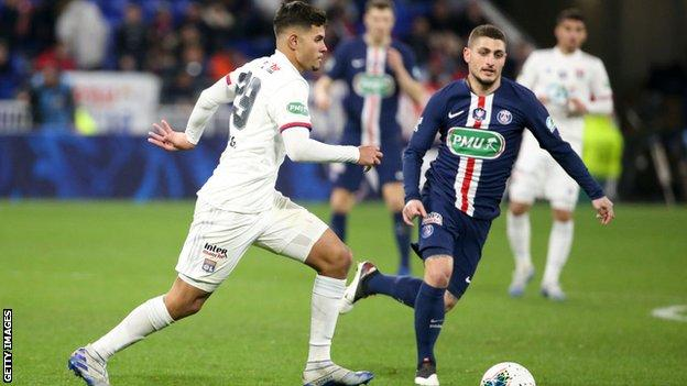 Paris St-Germain and Lyon