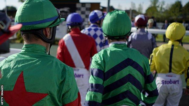 Racing returned to the UK on 1 June