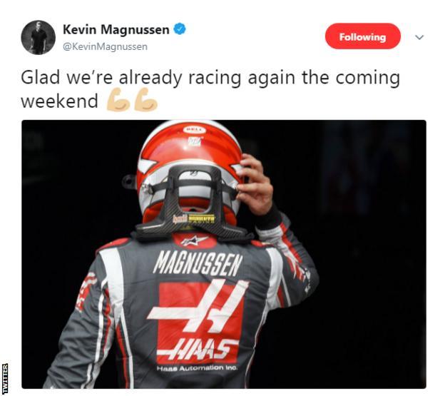 Kevin MagnussenTwitter
