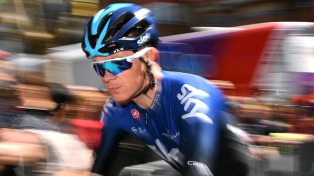 Volta a Catalunya: Chris Froome falls as Michael Matthews wins second stage thumbnail