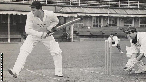 Former Sussex and England all-rounder Don Smith