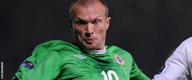 Feeney won 46 caps for Northern Ireland