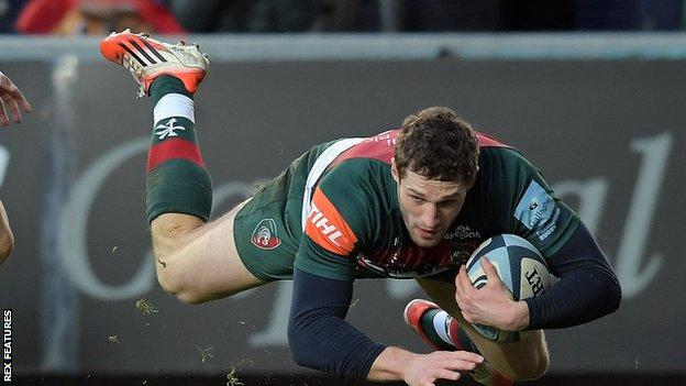 Holmes made his Wales debut against Tonga in November