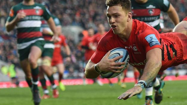 Premiership: Leicester Tigers 22-27 Saracens thumbnail