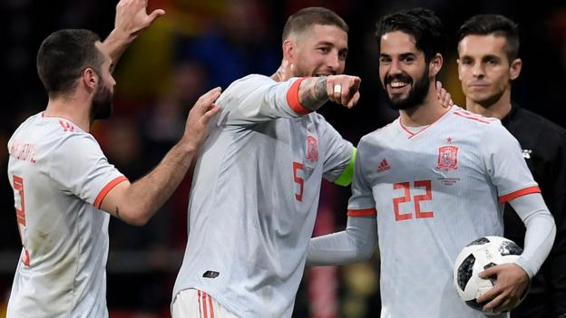 a9daa5e9c63 World Cup 2018  How are the favourites shaping up  - BBC Sport