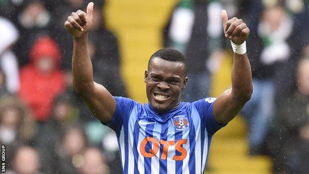 Kilmarnock sold striker Souleymane Coulibaly for a fee in the region of £800,000.